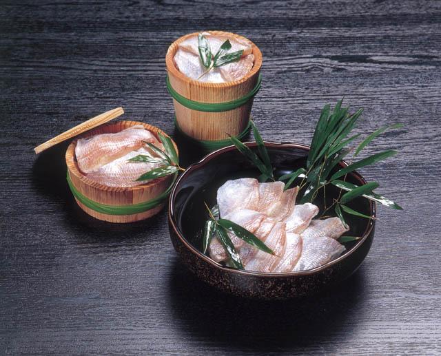 若狭魚福井キダイ小鯛のささ漬の画像