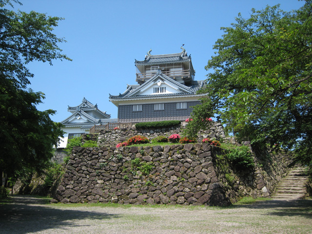 越前大野城の画像