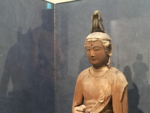 ー勢至菩薩立像の画像