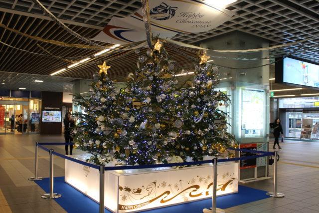 福井駅クリスマスイルミネーション