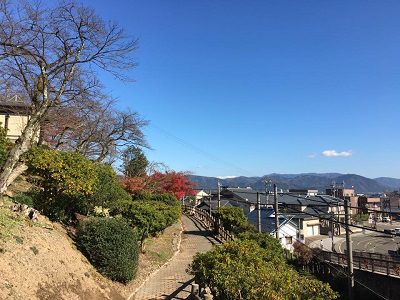 【鯖江市】西山公園駅に向かうまでの景色に目を向けてみて…