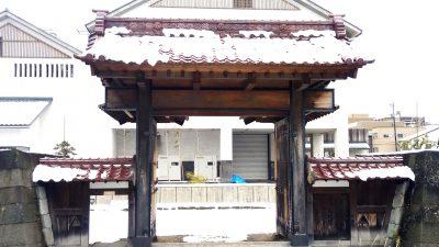 福井城舎人門遺構の画像