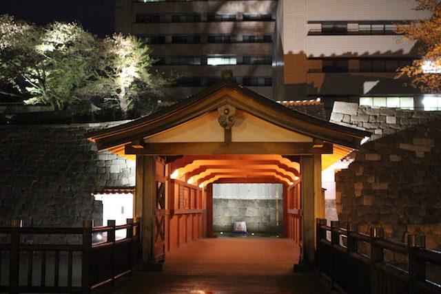福井県福井城御廊下橋の画像