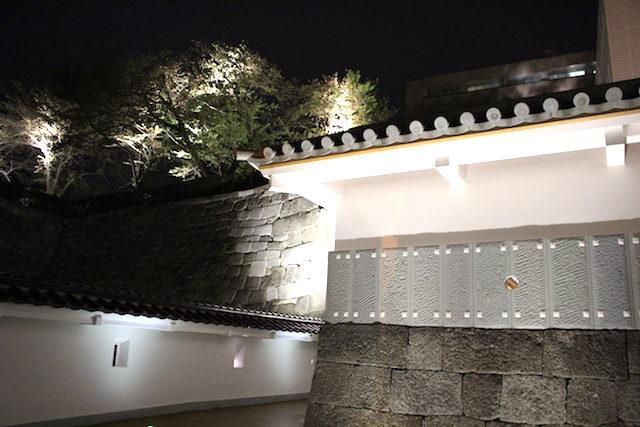 福井県福井城山里口御門御廊下橋の画像