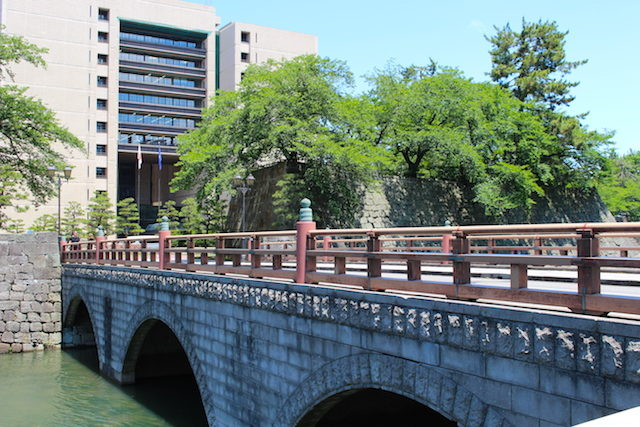 福井城跡県庁歴史御本城橋の画像
