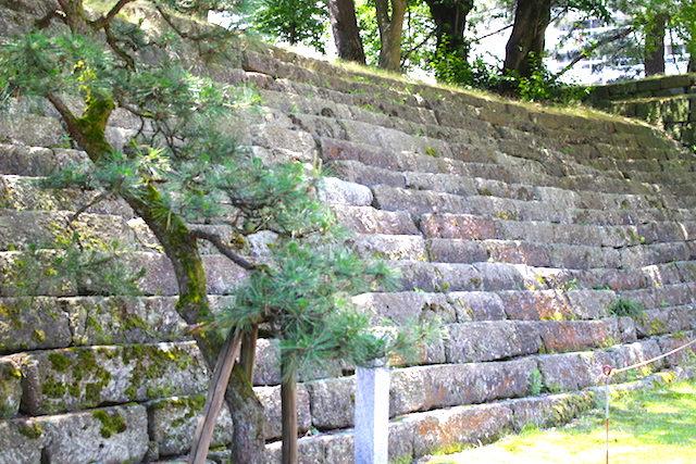 福井城跡県庁歴史雁木の画像
