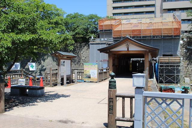 福井城跡県庁歴史御廊下橋の画像