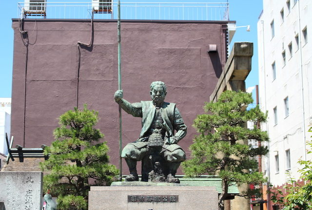福井観光歴史北ノ庄城址・柴田公園柴田勝家の画像
