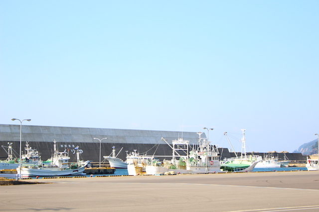 福井越前漁港の画像