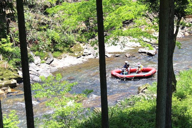 福井池田ツリーピクニックアドベンチャーボートの画像