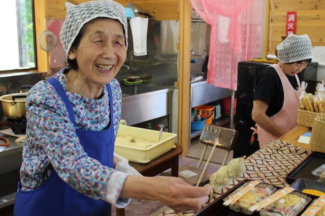 福井池田ぬくもり茶屋きびだんごスイーツ和菓子の画像