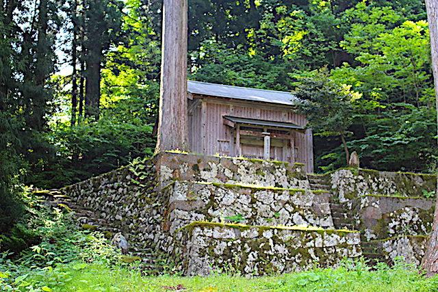 福井池田パワースポット日野宮神社の画像