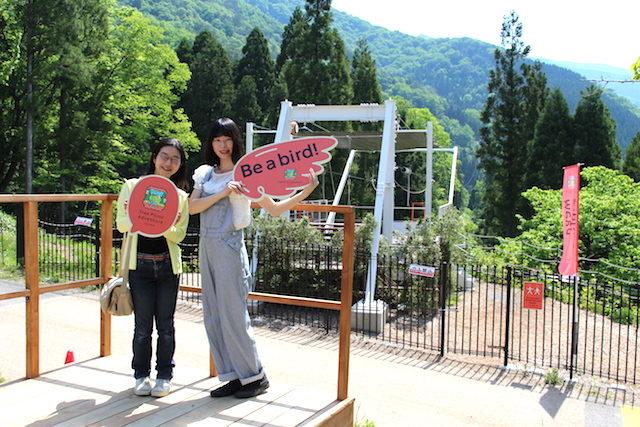 福井池田ツリーピクニックアドベンチャージップラインの画像