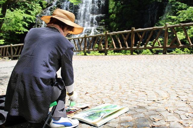 福井池田龍双ヶ滝の画像
