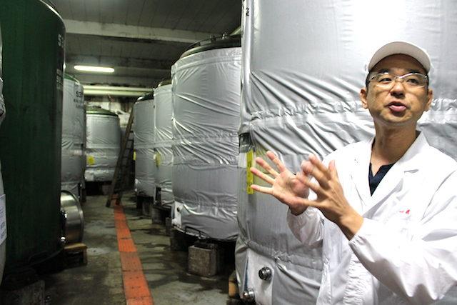 福井勝山グルメ一本義日本酒の画像