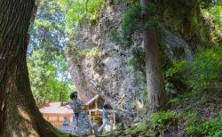 福井勝山大矢谷白山神社の画像