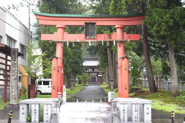 福井池田パワースポット須波阿須疑神社