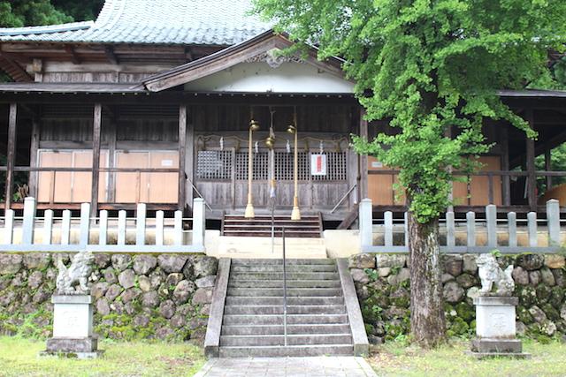 福井池田パワースポット鵜甘神社の画像