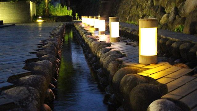 福井勝山大清水灯りまつりの画像