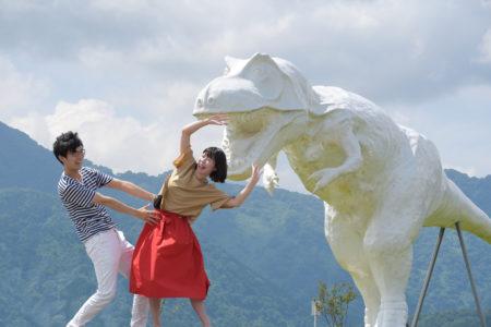 福井勝山恐竜ホワイトザウルスの画像