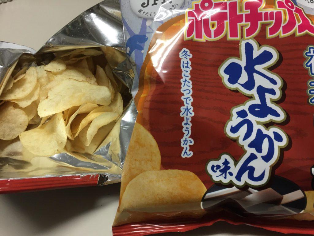 水ようかん味ポテトチップス!?カルビーのご当地ポテトチップス福井バージョンついに発売!