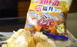カルビーポテトチップス福井へしこ