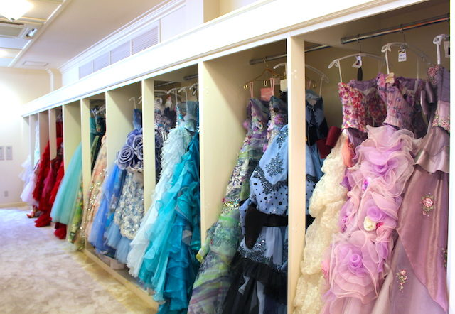 福井結婚式クイーンズコートグランシャリオブライダルフェアみや美ドレスの画像
