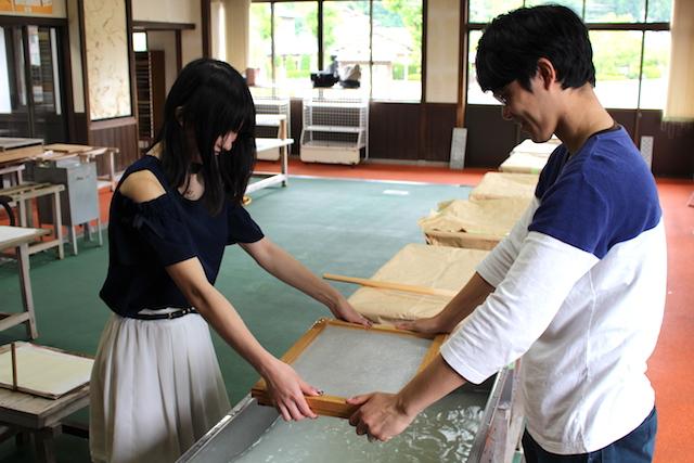 福井越前和紙オリジナル手作り婚姻届