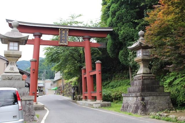 福井越前和紙岡太大瀧神社パワースポット