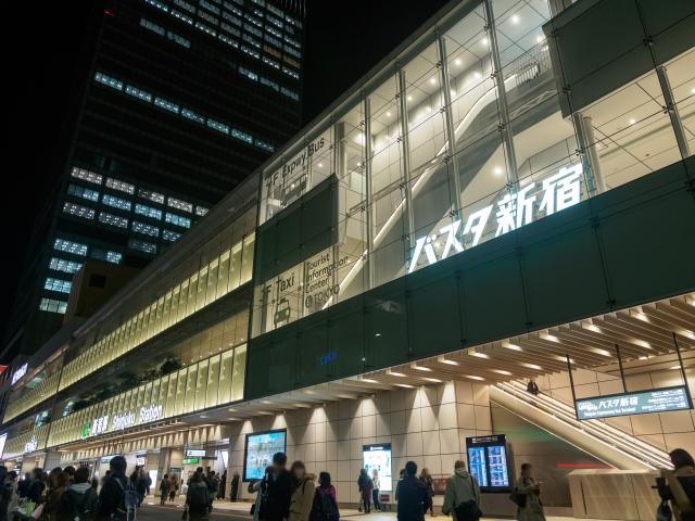 バスタ新宿でメイク落としやお土産購入はできる?バス路線・バス予約サイト5選も紹介