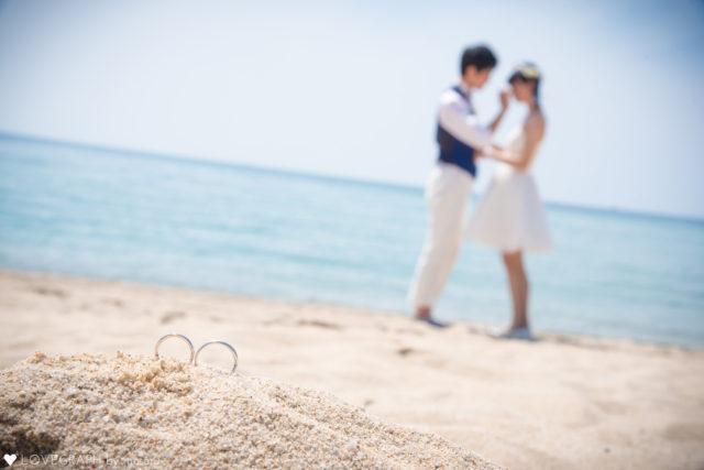 福井水晶浜ラブグラフ ブライダルフォト