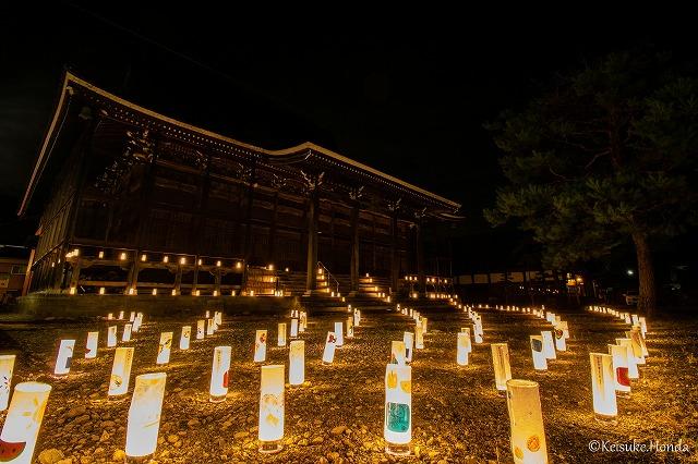 福井勝山灯りまつり