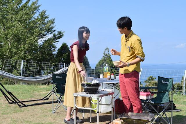 福井ガラガラ山キャンプ場ご飯