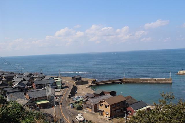 越前海岸日本海福井ガラガラ山キャンプ場