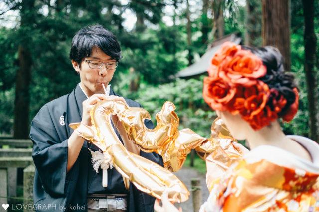 福井勝山平泉寺和装ブライダルフォトウエディングマリーマリエラブグラフ