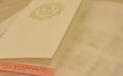 結婚式の席次表に福井県の伝統工芸品・越前和紙を使ってみた!【(株)ペーパージャック】