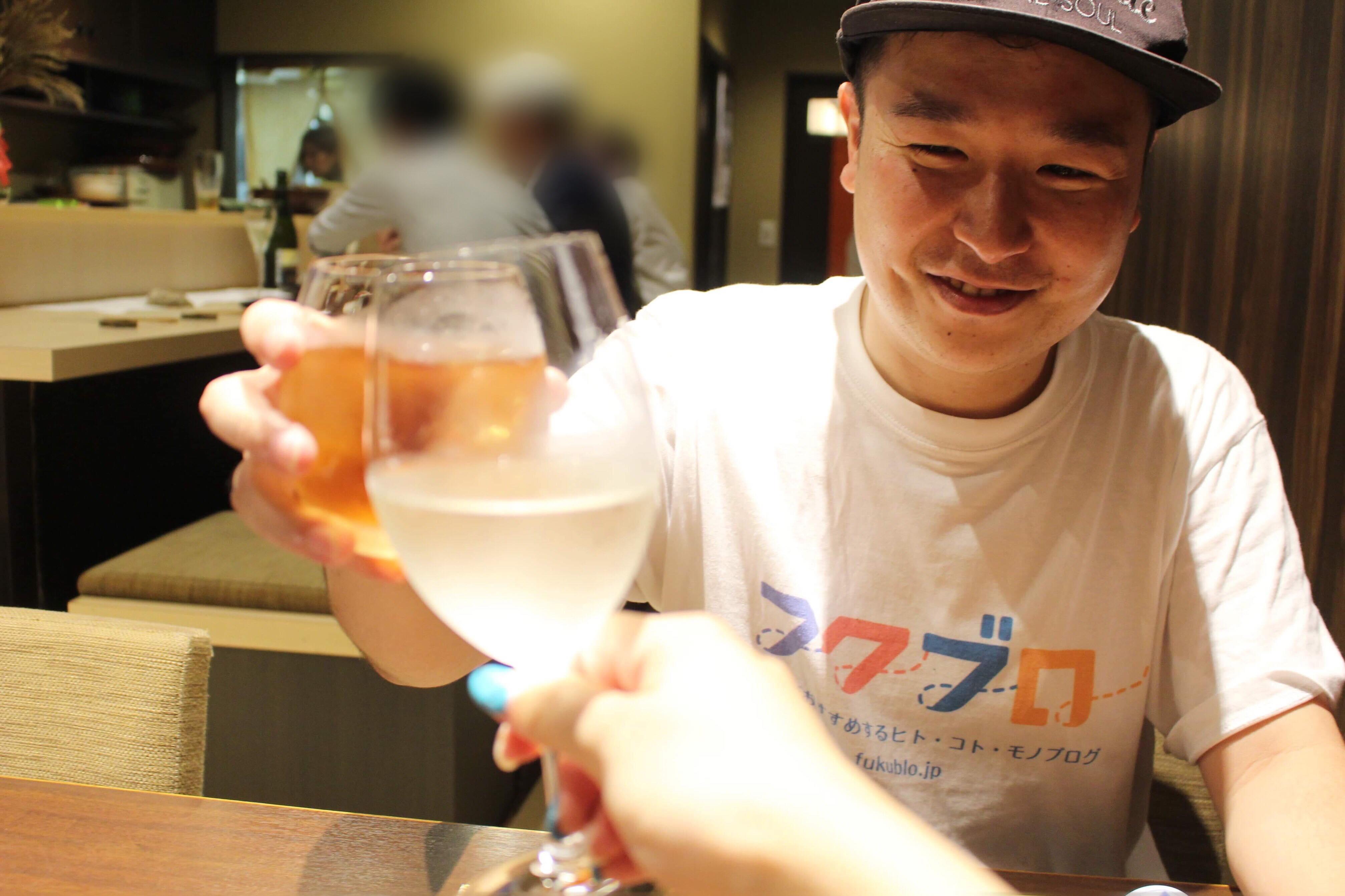 フクブロ【ゴチ企画】ごぅさんと一緒にディナーに行ってきました!