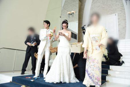 福井の婚礼の風習「まんじゅうまき」とは?結婚式に「お菓子まき」はいかが?
